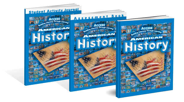 access american history textbooks for grades 5