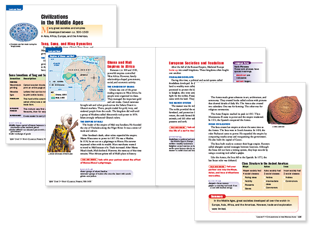 ACCESS World History Look and Read