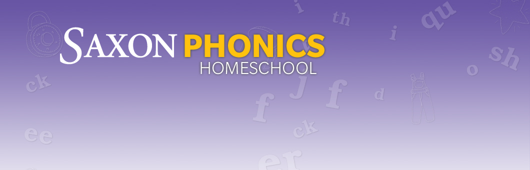 Saxon Phonics Homeschool