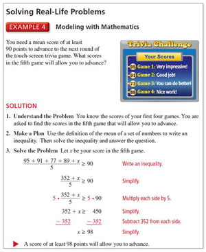 Embedded Mathematical Practices - Vocabulary and Core Concept Check