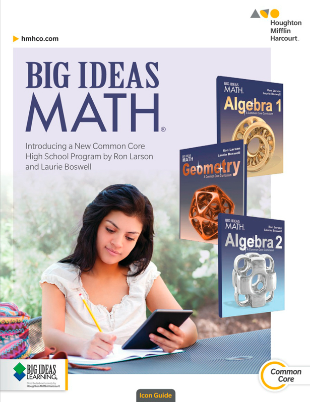 Big ideas Math Record And Practice journal 8