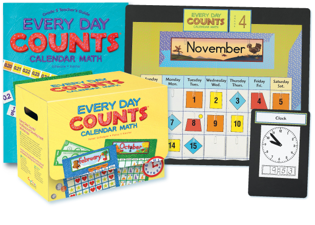 Everyday Counts Calendar Math and More for Grades PreK 6 – Everyday Math 2nd Grade Worksheets