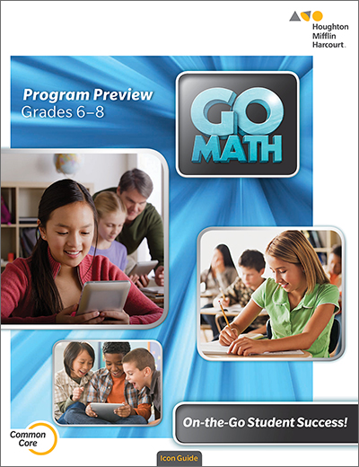 Go Math Interactive Brochures Middle School
