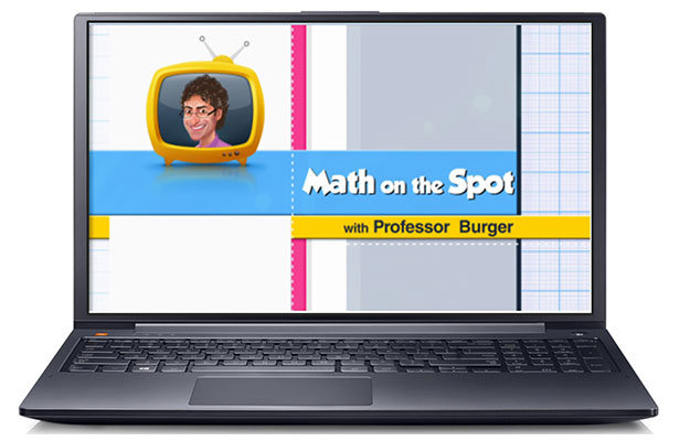 Math on the Spot with Professor Burger