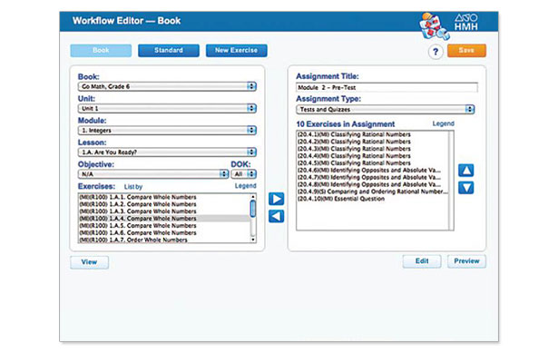 Workflow Editor Screen