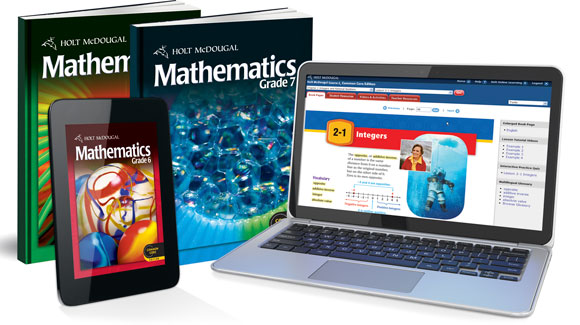 Holt McDougal Middle School Mathematics Textbooks – Holt Middle School Math Worksheets