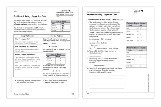 Houghton Mifflin Math Worksheets Grade 6 houghton mifflin – Common Core Math Grade 6 Worksheets