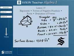 Saxon Math Algebra 1 - Homework Help - MathHelp.com - YouTube