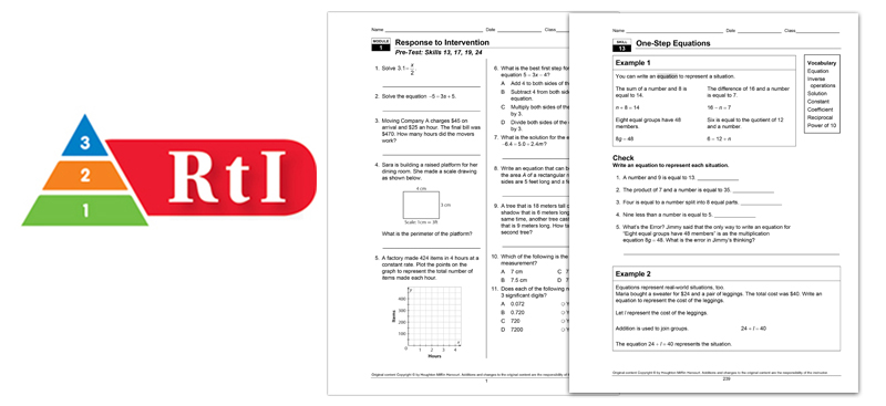 HMH Integrated Mathematics 1 2 3 for Grades 912 – Houghton Mifflin Math Worksheets Grade 3
