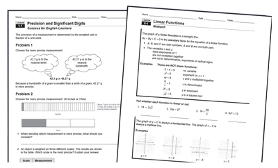 Printables Integrated Math 2 Worksheets integrated math 1 worksheets answers hmh mathematics algebra geometry 2 high school curriculums