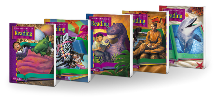 Houghton Mifflin Elementary Reading Programs for Grades K-6