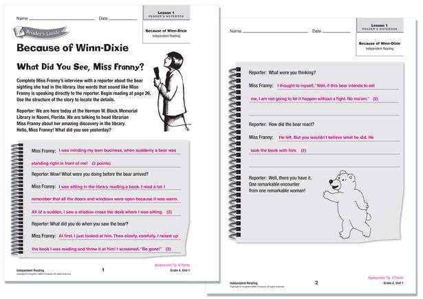 Houghton Mifflin Harcourt Texas Journeys Worksheets For Grade 2