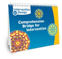 Intervention by Design Comprehension Bridge Cards