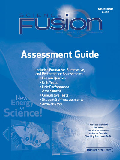 Grades k8 science curriculum sciencefusion from hmh assessment options ccuart