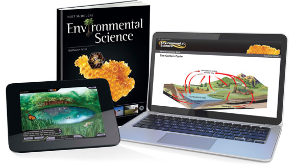 Holt McDougal Environmental Science Textbooks