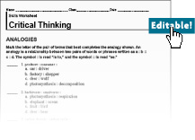 Worksheets Critical Thinking Skills Worksheets critical thinking reading worksheet printables science skills answers sharpmindprojects printable worksheets