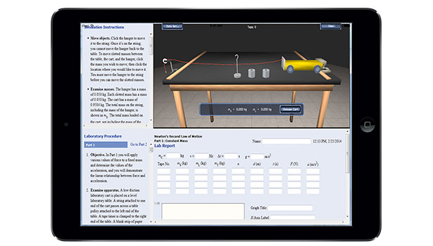 High School Virtual Physics Lab App