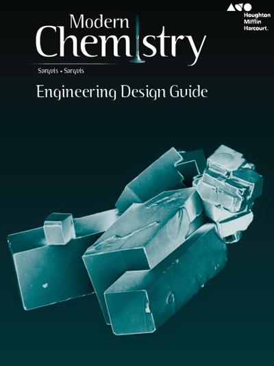 Engineering Design Curriculum : Modern chemistry high school textbooks and digital programs