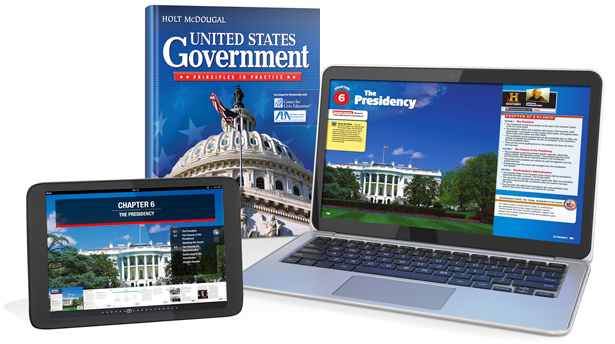United States Government Principles in Practice – Participation in Government Worksheets