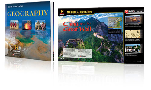 Houghton Mifflin Harcourt History - Geography