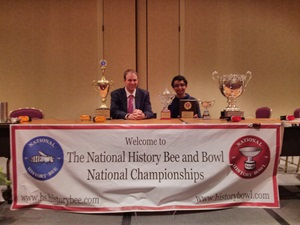 Sameer Rai - National History Bee Junior Varsity Champion