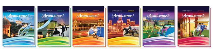 Avancemos book covers
