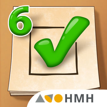 HMH Common Core Reading Practice and Assessment App, Grade 6