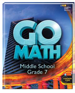 Arnold, Jennifer / GO Math Grade 7