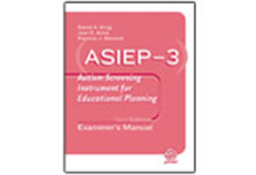 Autism Screening Instrument for Educational Planning, Third Edition (ASIEP-3)