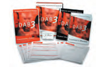 Diagnostic Achievement Battery, Third Edition (DAB-3)