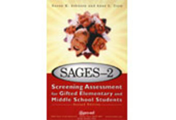 Screening Assessment for Gifted Elementary and Middle School Students, Second Edition (SAGES-2)
