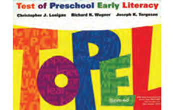 Test of Preschool Early Literacy (TOPEL)