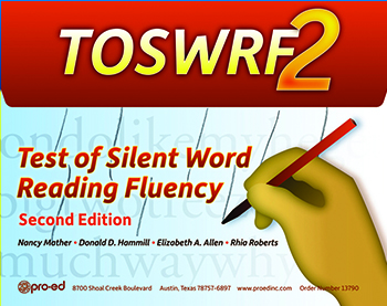 Test of Silent Word Reading Fluency—Second Edition (TOSWRF-2)