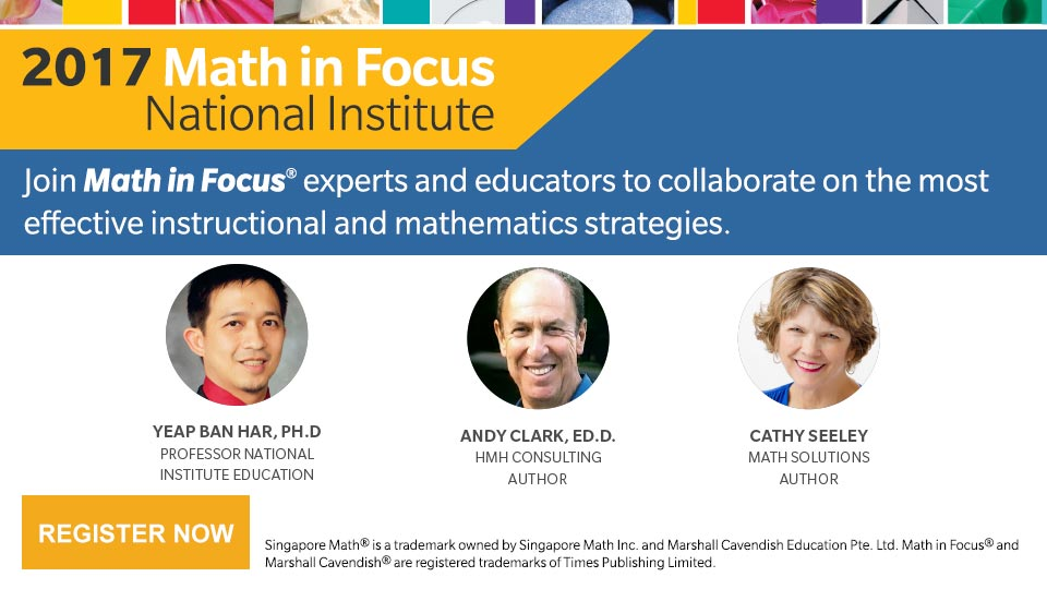 Math in Focus National Institute 2017