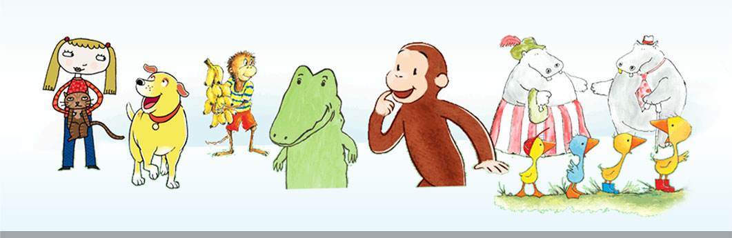 Character Design For Children S Books : Favorite storybook characters houghton mifflin harcourt