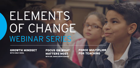 Elements of Change Webinar Series